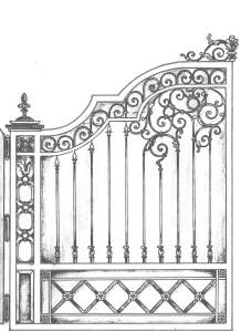 ворота басівка4