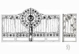 ворота оброшино 4